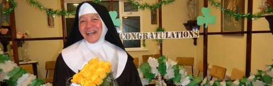 Congratulations to Sr. Veronica